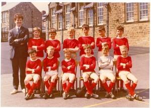 Football team 1980s 1a