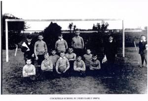 C. of E. Team 1901